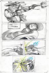 Strange Protagonist Comics p.3 by croovman