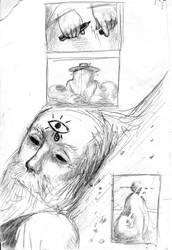 Strange Protagonist Comics p.5 by croovman