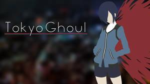 Tokyo Ghoul - Minimalist Wallpaper