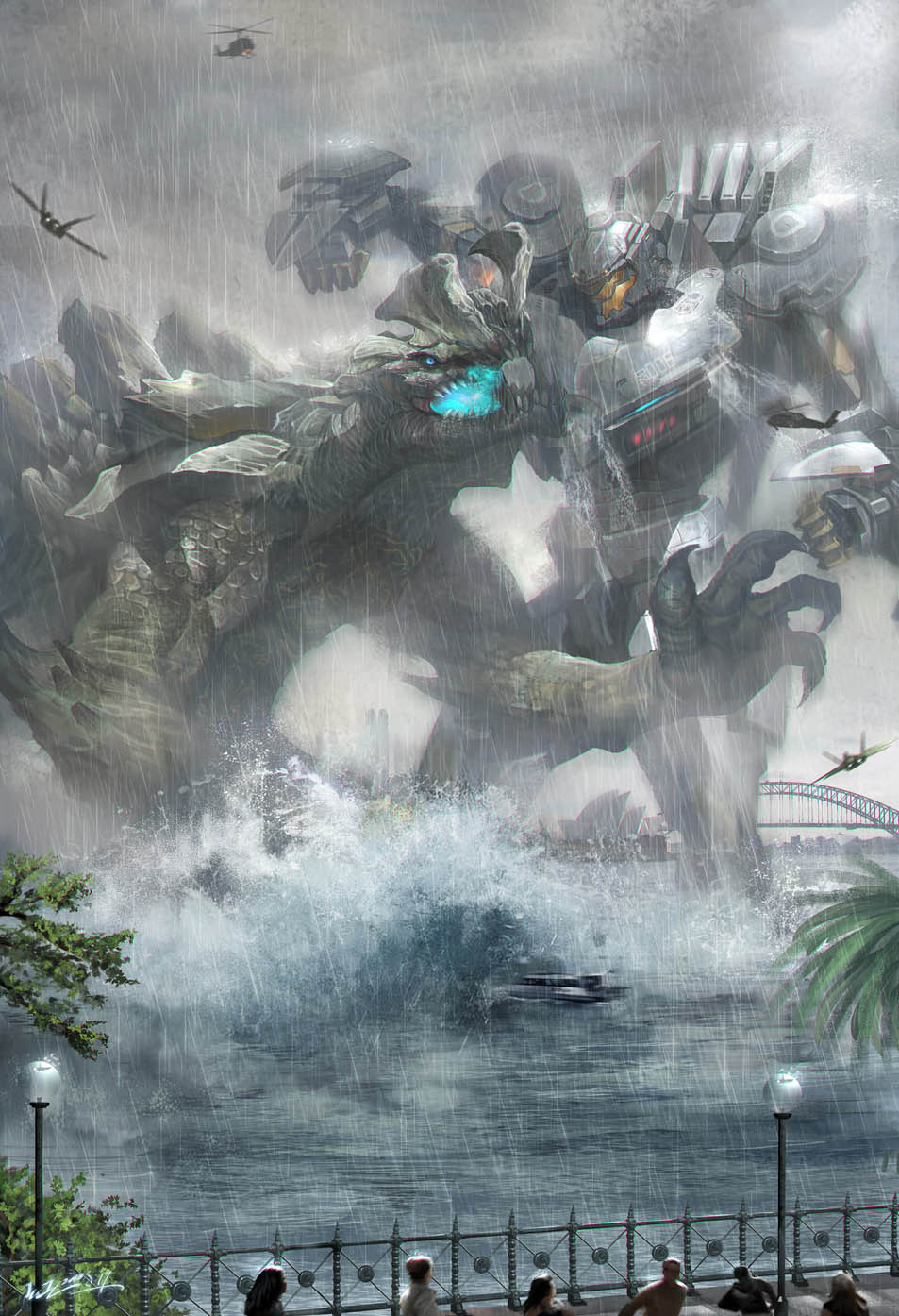 PACIFIC RIM-Striker Eureka by JUNLING