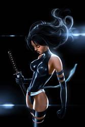 Psylocke by skribbliX