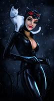 Catwoman by skribbliX