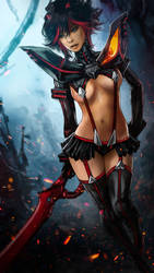 Ryuko by skribbliX