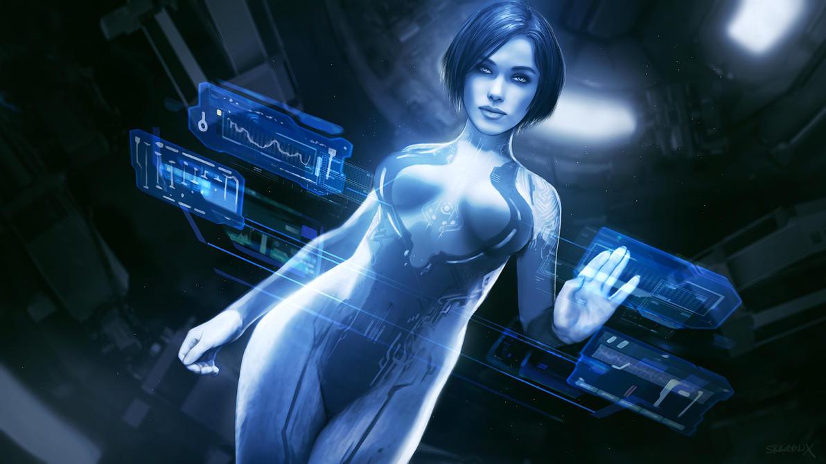 Cortana by skribbliX