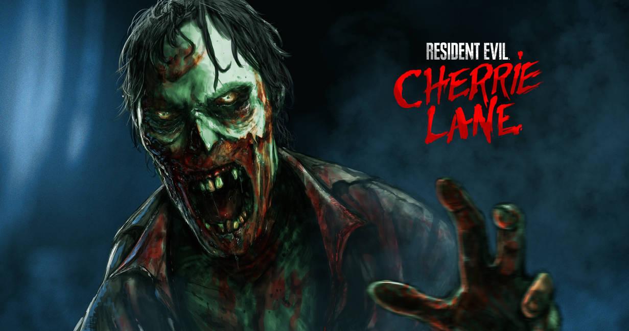 Resident Evil Zombie by skribbliX