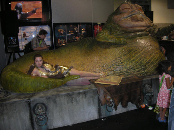 Leia and Jabba by Jaystudly1982 on DeviantArt Jabba The Hutt And Leia