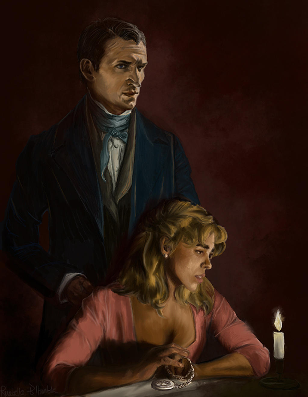 19th c Nine And Rose by ruebella-b