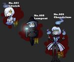 Every Ghost Pokemon as a Gijinka 4