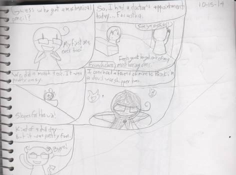 Sketch journal 10/15/14