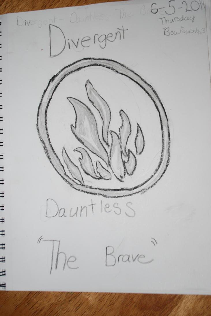 divergent dauntless symbol by boufoursha3 on deviantart