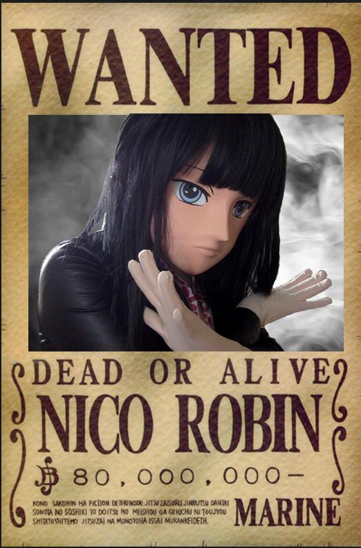 One Piece Nico Robin Wanted