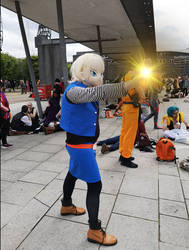 Android 18 Cosplay by Itachis-killer