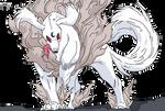 Sesshomaru Dog Form Base 4