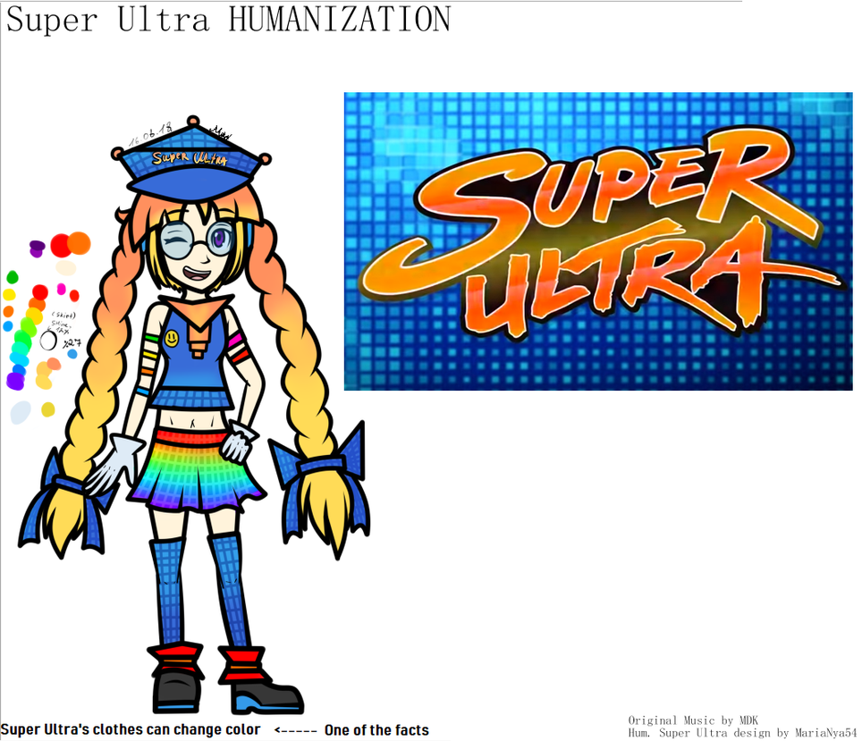 [HUM+REF] Hum. Super Ultra's reference by MariaNya54