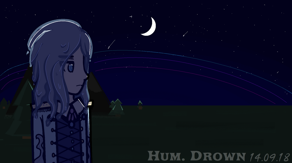 [HUM.] You just need to drown this night by MariaNya54
