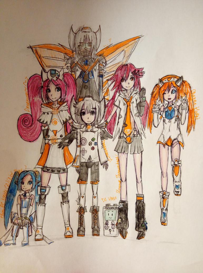 [ART] ''Dream Team'' (okay) by MariaNya54