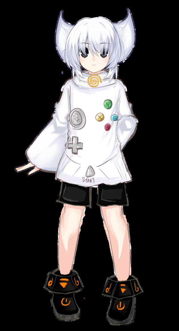 [HUM.+FANART] Hum. Dreamcast (again) by MariaNya54