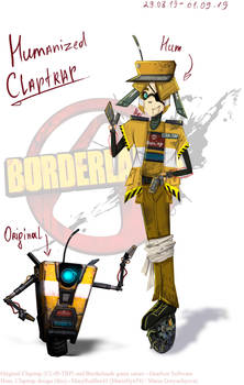 [HUM.] BORDERLANDS - Claptrap