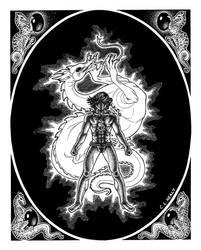 Dragon Warrior by khorah