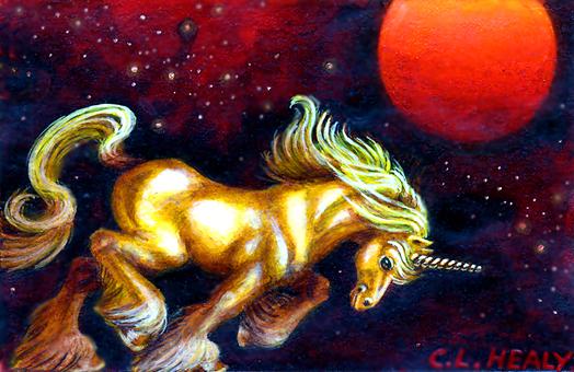 Unicorn Moon by khorah