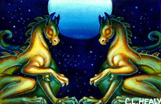 Double Dragon by khorah