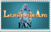 Luminous Arc Fan Stamp by elieflare
