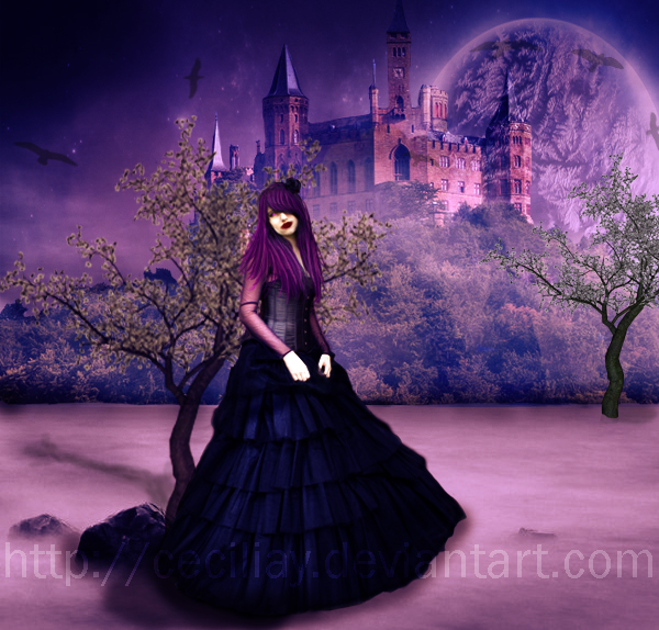 Out Alone in the World by ceciliay