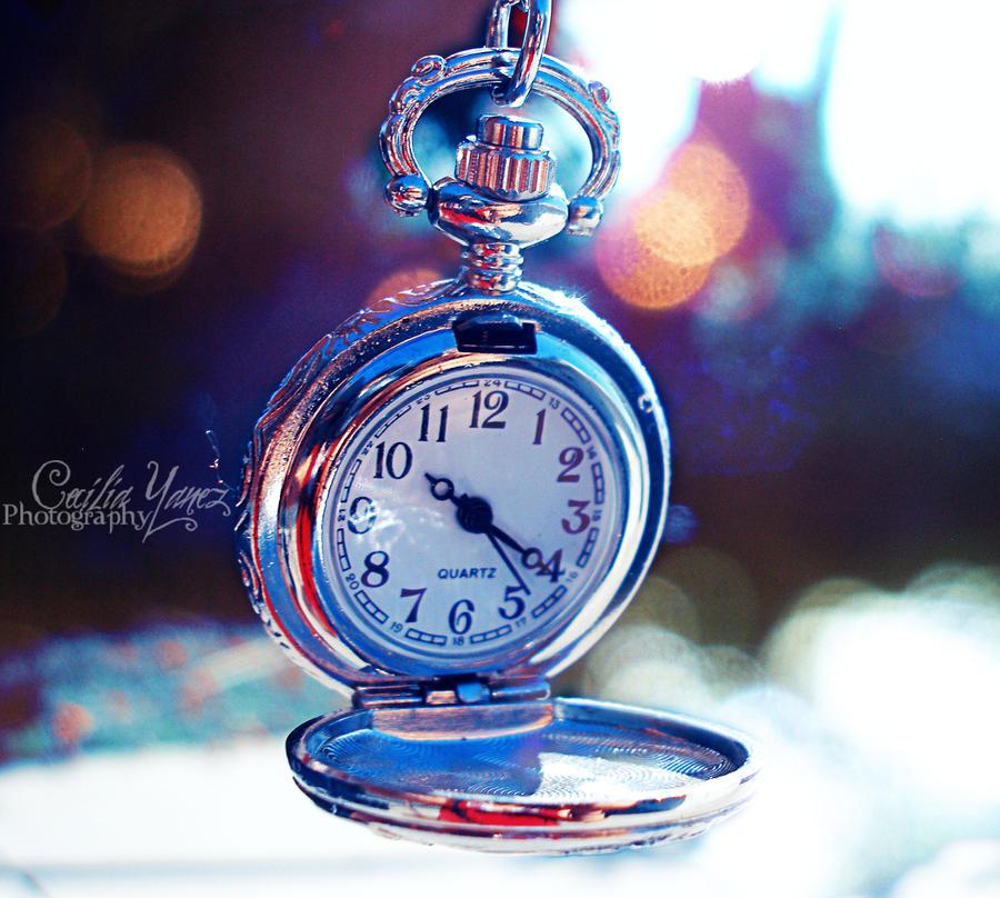 The time is ticking by ceciliay