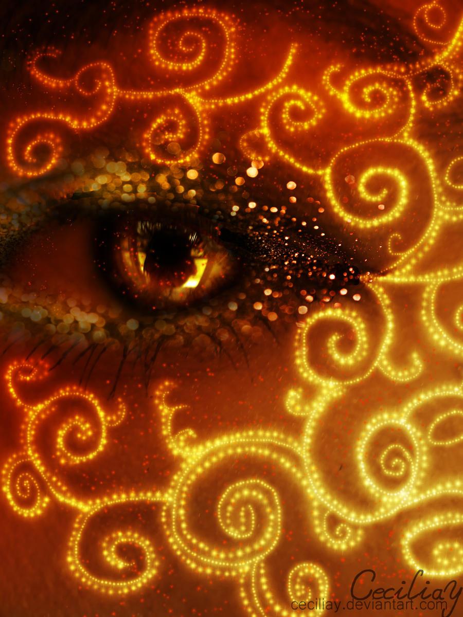 Orange Blaze by ceciliay