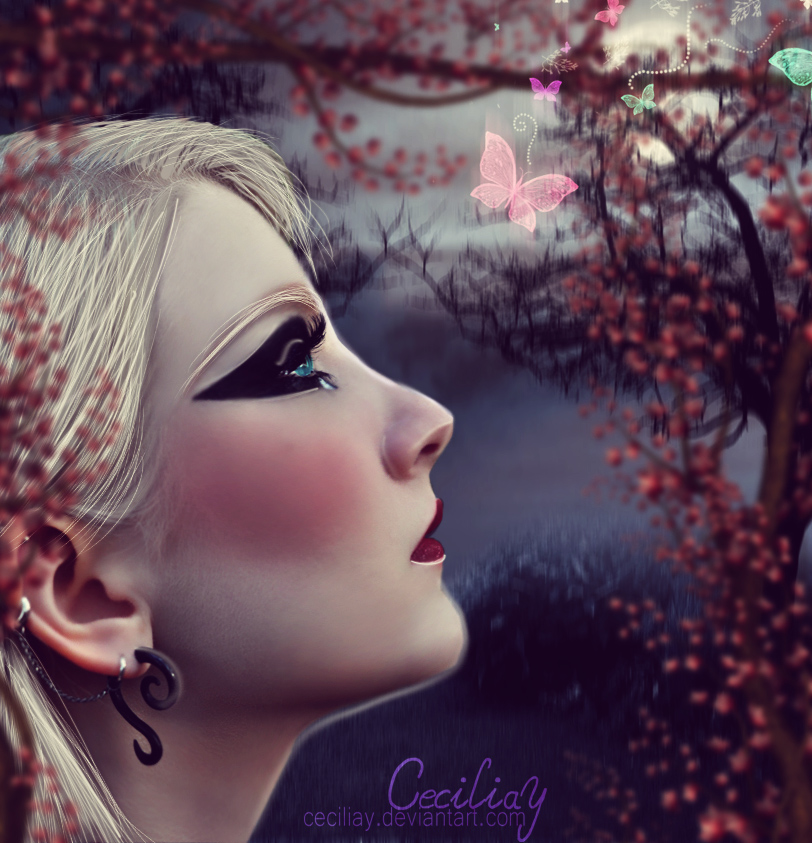 The Gift Of Beauty by ceciliay