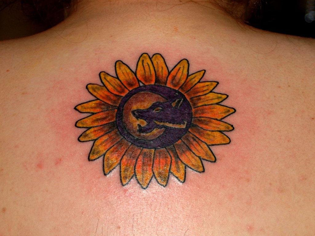 Sunflower Wolf by designbyry