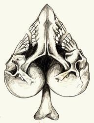 Spade of Skulls by designbyry