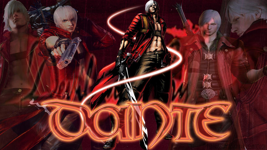 Devil May Cry-Dante Wallpaper by PPGDBlossom