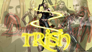 Devil May Cry-Trish Wallpaper by PPGDBlossom