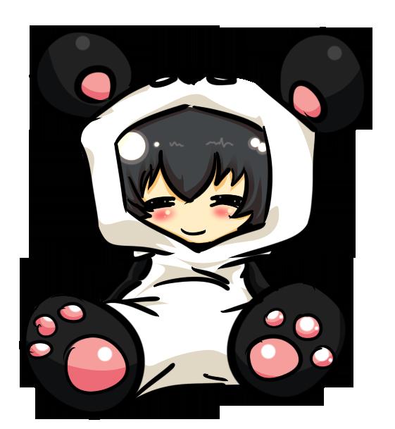 Panda chibi by Styks666