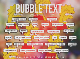 +Bubble pack|text Tumblr by CAMI-CURLES-EDITIONS