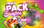 + MEGA PACK: BRUSHES  