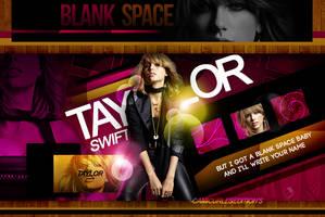 +EDICION: Blank Space   Taylor by CAMI-CURLES-EDITIONS