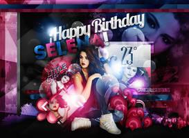 +EDICION: Happy Birthday Selena!   Little Girl by CAMI-CURLES-EDITIONS