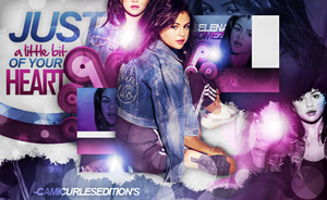 +EDICION: Just A Little Bit Of Your Heart   Selena by CAMI-CURLES-EDITIONS