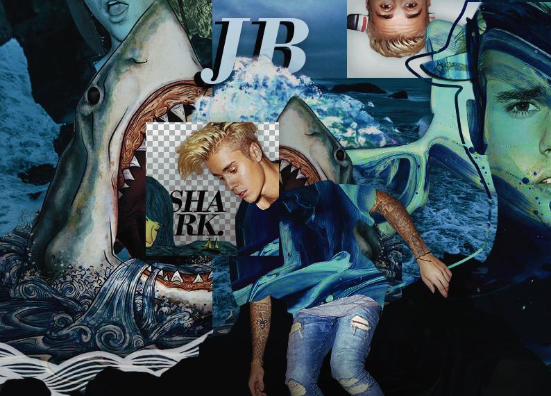 +EDICION: Shark | Justin Bieber by CAMI-CURLES-EDITIONS