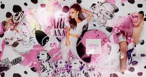 +EDICION: Little Dog|Ariana Grande by CAMI-CURLES-EDITIONS