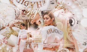 +EDICION: Lady Glamour| Gigi Hadid by CAMI-CURLES-EDITIONS