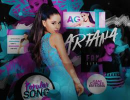 +EDICION: Popular Song | Ariana G by CAMI-CURLES-EDITIONS