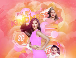 +EDICION: Kill Em With Kidness | Selena G by CAMI-CURLES-EDITIONS
