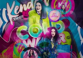+EDICION: Cold Water  Kendall Jenner by CAMI-CURLES-EDITIONS