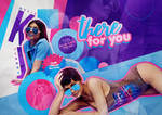 +edicion // there for you - Kylie.