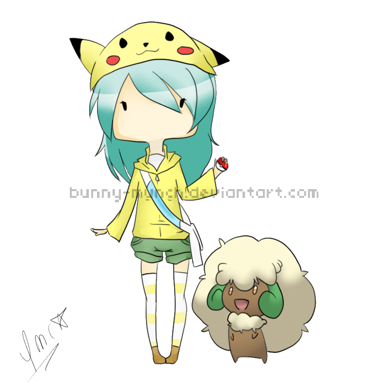 Chibi pokemon trainer by bunny munch on deviantart chibi pokemon trainer by bunny munch ccuart Gallery