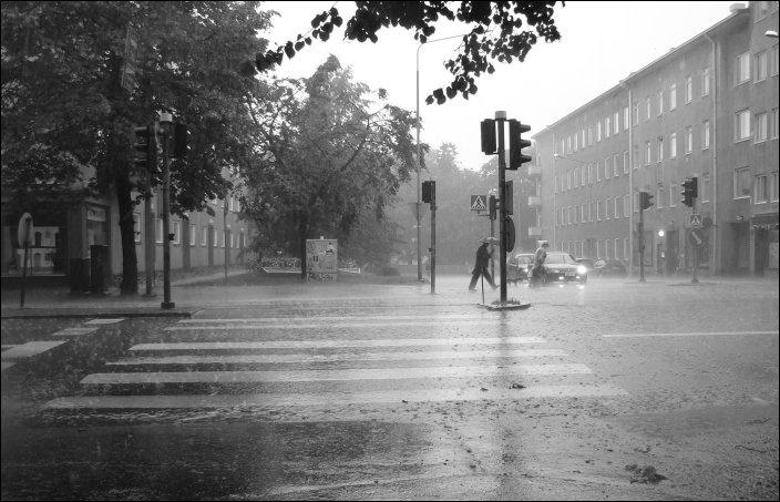 A Rainy Day by hautausmaa