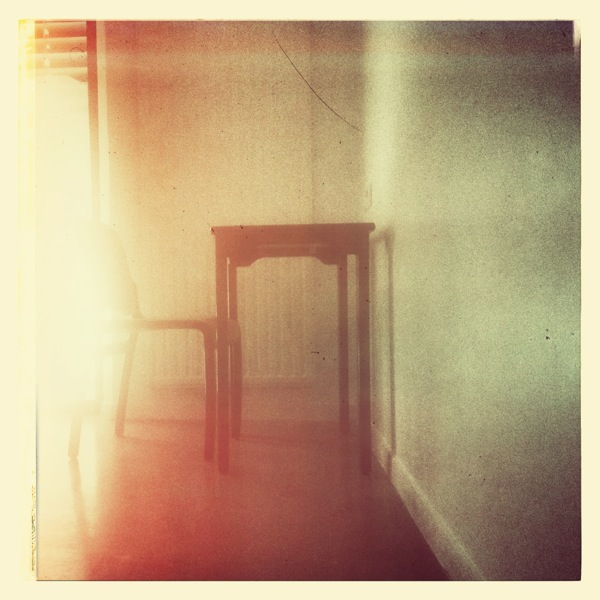 Chair in the light by crossfading